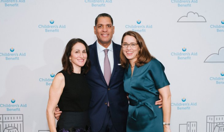 2019 Children's Aid Benefit - Amy Scharf, Jose L. Tavarez, and Phoebe Boyer