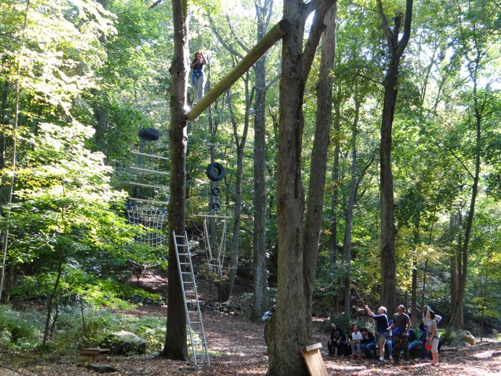 Wagon Road Adventure Rope Course