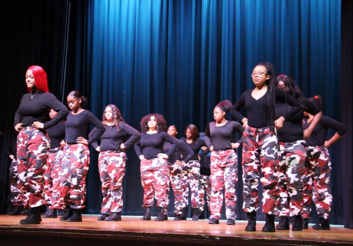 Black History Month Celebration at Curtis High School
