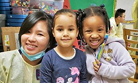 Dental visits at our Early Childhood centers