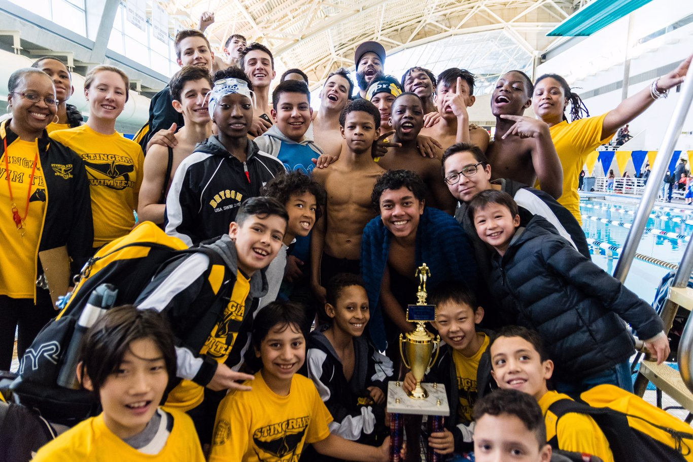 Milbank Stingray Swim Team 2018 League Championships